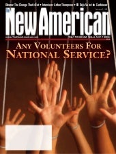 Any Volunteers For National Service...