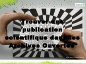 Trouver des publications scientifiq...