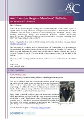 AoC London Members 130 Bulletin 130222