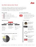 Aon Risk Solutions Fact Sheet