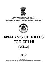ANALYSS OF RATES-VOLUME-II