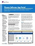 Flexera Software App Portal Datasheet