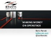 How to Make Money with OpenStack