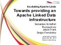 Incubating Apache Linda (ApacheCon Europe 2012)