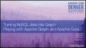 Giraph+Gora in ApacheCon14