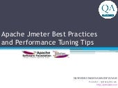 Apache Jmeter Best Practices and Performance Tuning Tips