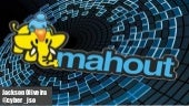 Apache mahout - introduction