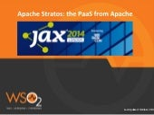 Apache Stratos: the PaaS from Apache