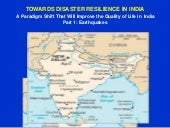 India Case Study.  A paradigm shift towards earthquake disaster resilience.