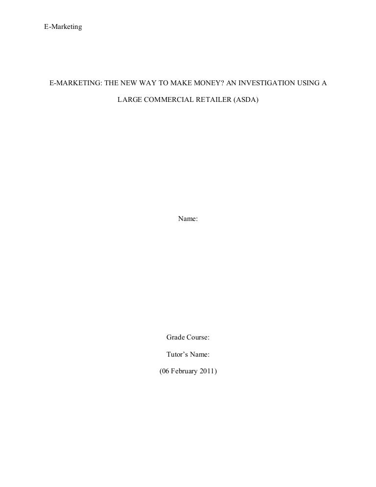 Dissertation essays on marketing communications