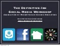 The Definitive-ish Workshop on Using Social Media in the Church