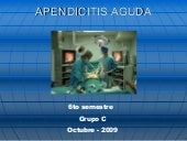 Apendicitis Aguda y Apendicectomia