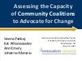 Assessing the Capacity of Community Coalitions to Advocate for Change