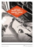 Australian Private Equity & Venture Capital Journal // October 2014