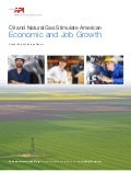 API Report: Oil and Natural Gas Stimulate American Economic and Job Growth