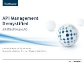 API Management Demystified