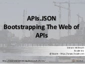 APIs.JSON: Bootstrapping The Web of APIs