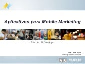 Aplicativos para Mobile Marketing