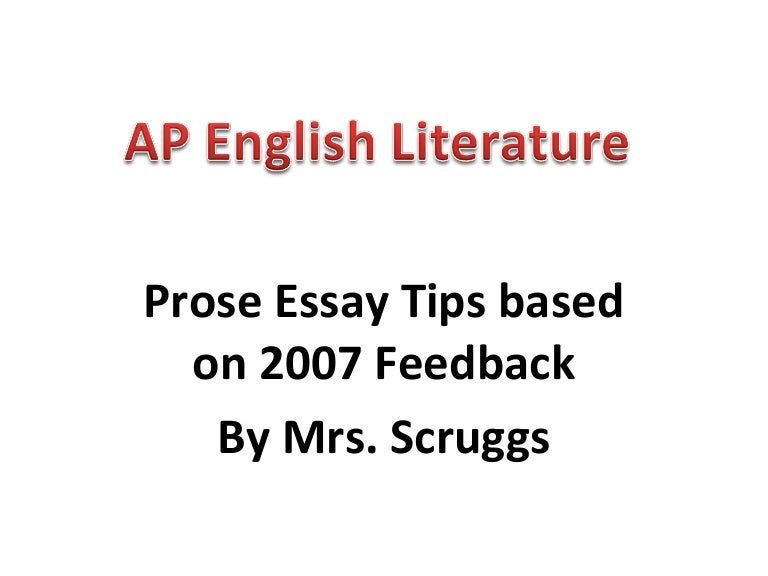 ap english language sample essays