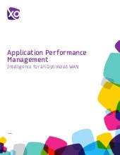 Application Performance Management:...
