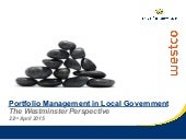 Apm portfolio management in local government - Tim Hopkins