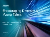 Encouraging diversity and young talent in Telefonica