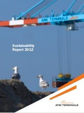 APM Terminals sustainability report...