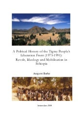 A political history of the tigray p...