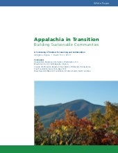 Appalachia in transition