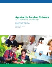 Appalachian Funders Network 2011 Ga...
