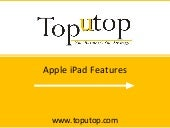 Apple iPad Features