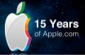 15 Years of Apples Homepage