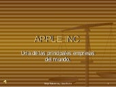 Trabajo de Apple Inc