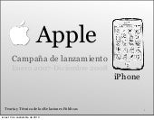 Marketing: Lanzamiento del iPhone