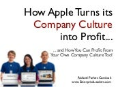 How Apple Turns Company Culture Into Profit
