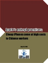 China Labor Watch Report: Pegatron ...