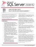 Microsoft SQL Server - Application and Multi Instance Management Datasheet