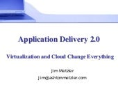 Application delivery 2 0