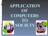 Application Of Computers with Pictures