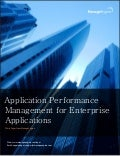 Applications performance Management For Enterprise Applications