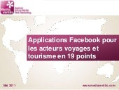 Applications facebook pour les acte...