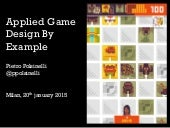 Applied Game Design by Example