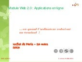 Applications enligne 2013