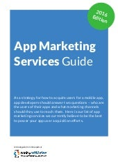App Marketing Services Guide