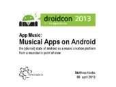 App Music: Musical Apps on Android