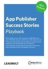App Publisher Success Stories Playbook