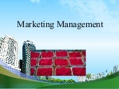Approaches to marketing @ mba ppt