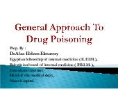 Approach to drug poisoning in adult...