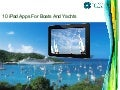 10 iPad Apps For Boats And Yachts