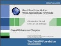 Best Practices Guide: Introducing Web Application Firewalls